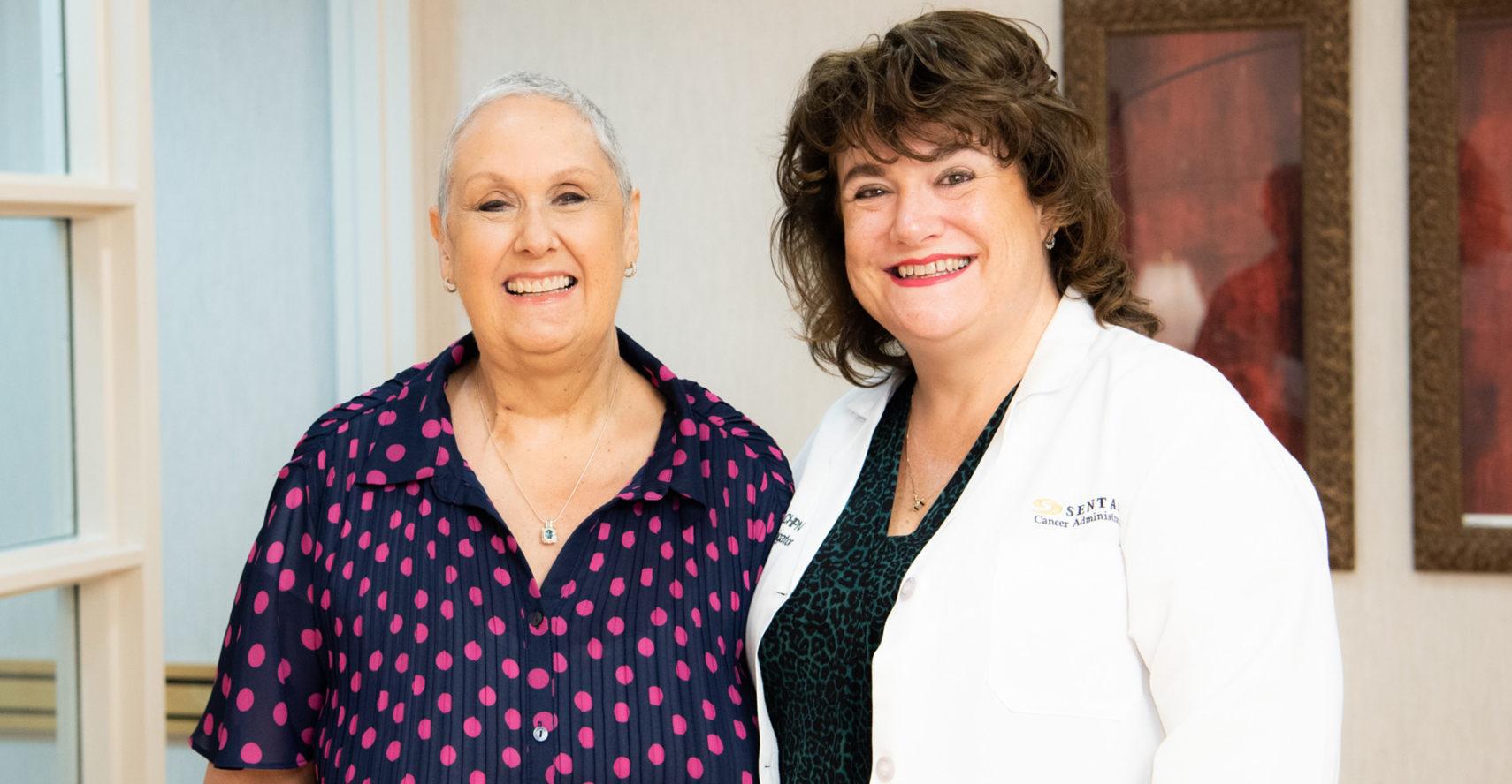Two women smiling | Kathy Baxter