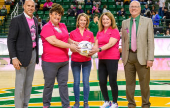 SNVMC was a 2019-2020 sponsor of the GMU Women's Pink Basketball game to honor breast cancer survivors.